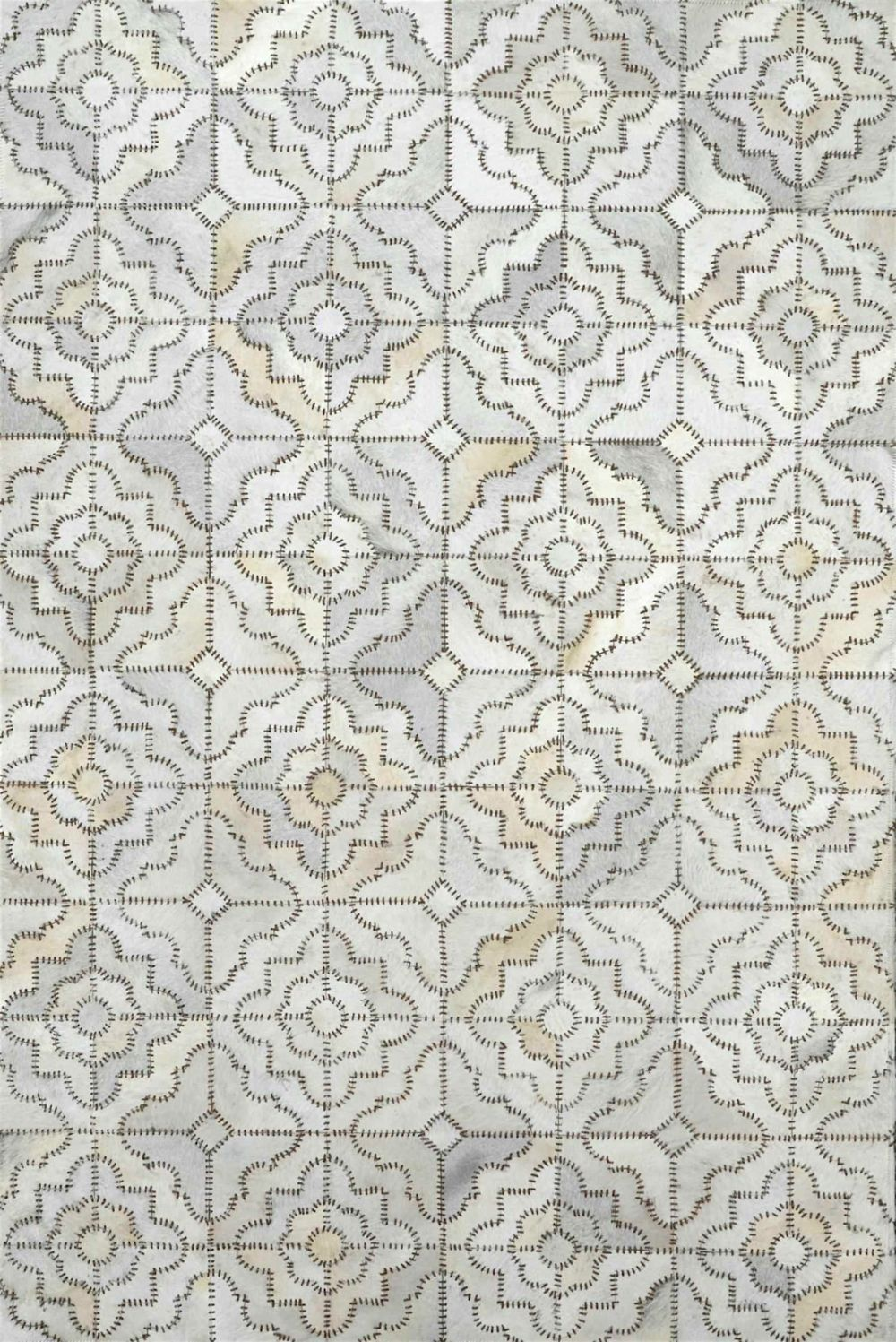 nuloom kyle cowhide contemporary area rug collection