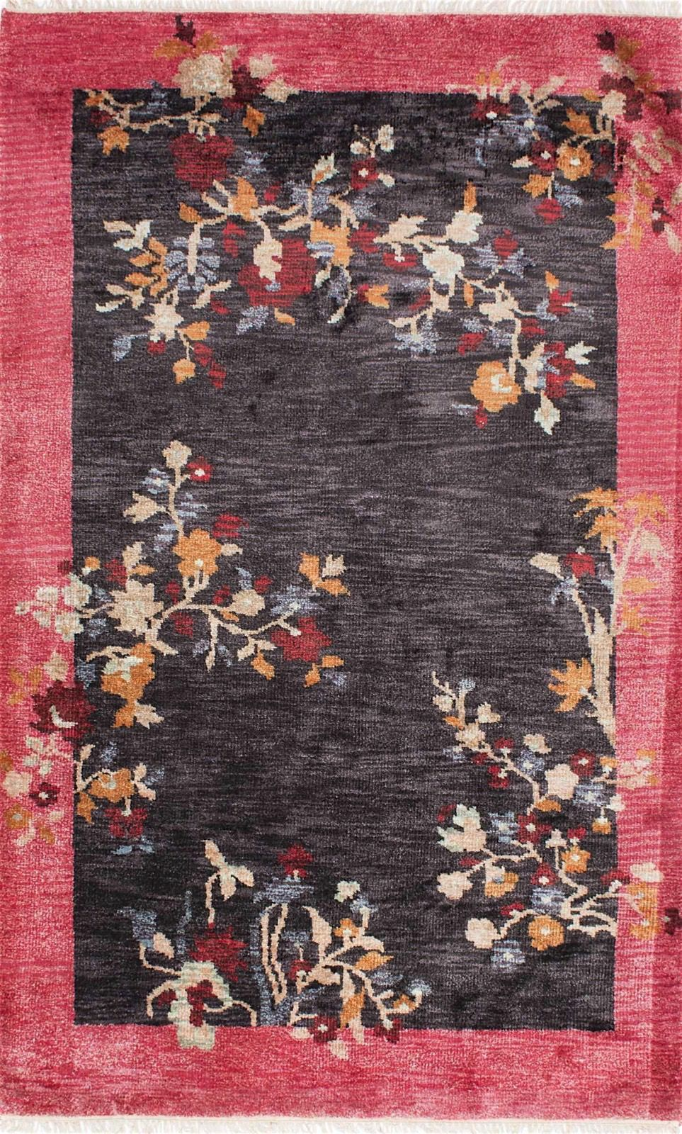 nuloom margie chinese art deco country & floral area rug collection