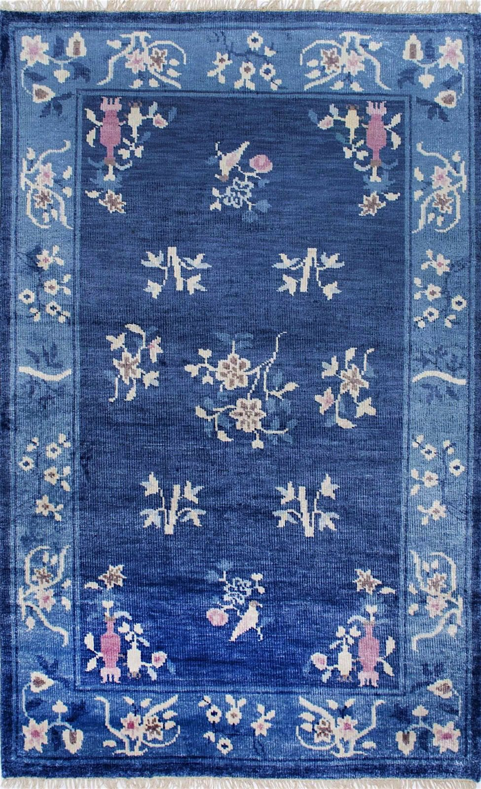 nuloom jean chinese art deco country & floral area rug collection