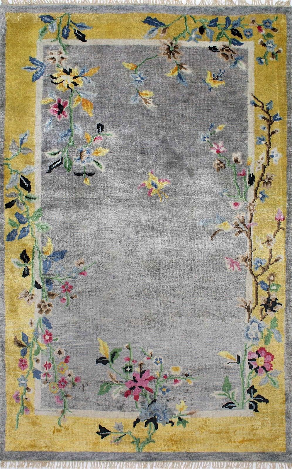 nuloom darrin chinese art deco country & floral area rug collection