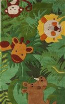 NuLoom Kids King Of The Jungle Area Rug Collection