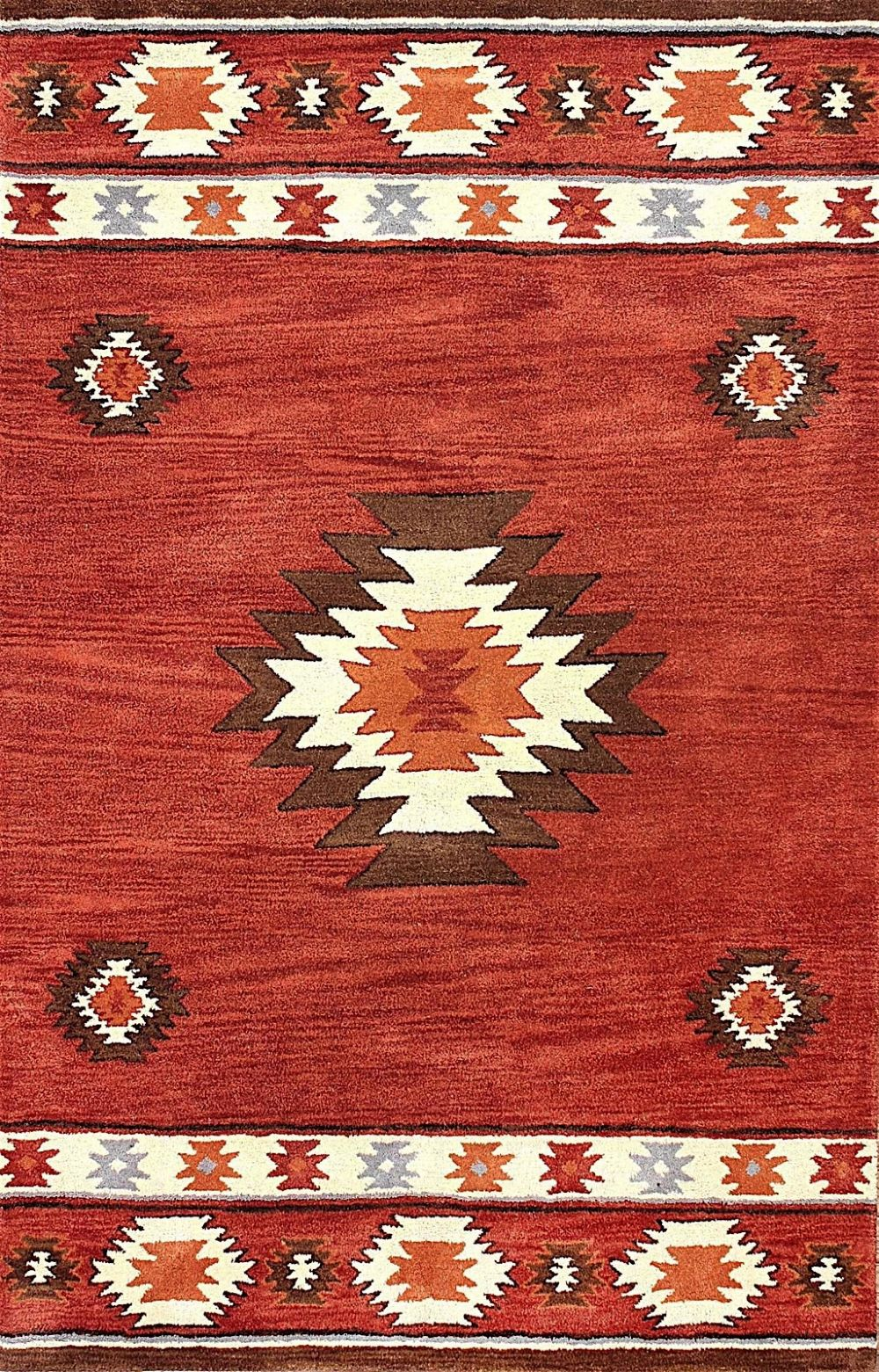 nuloom shyla southwestern/lodge area rug collection