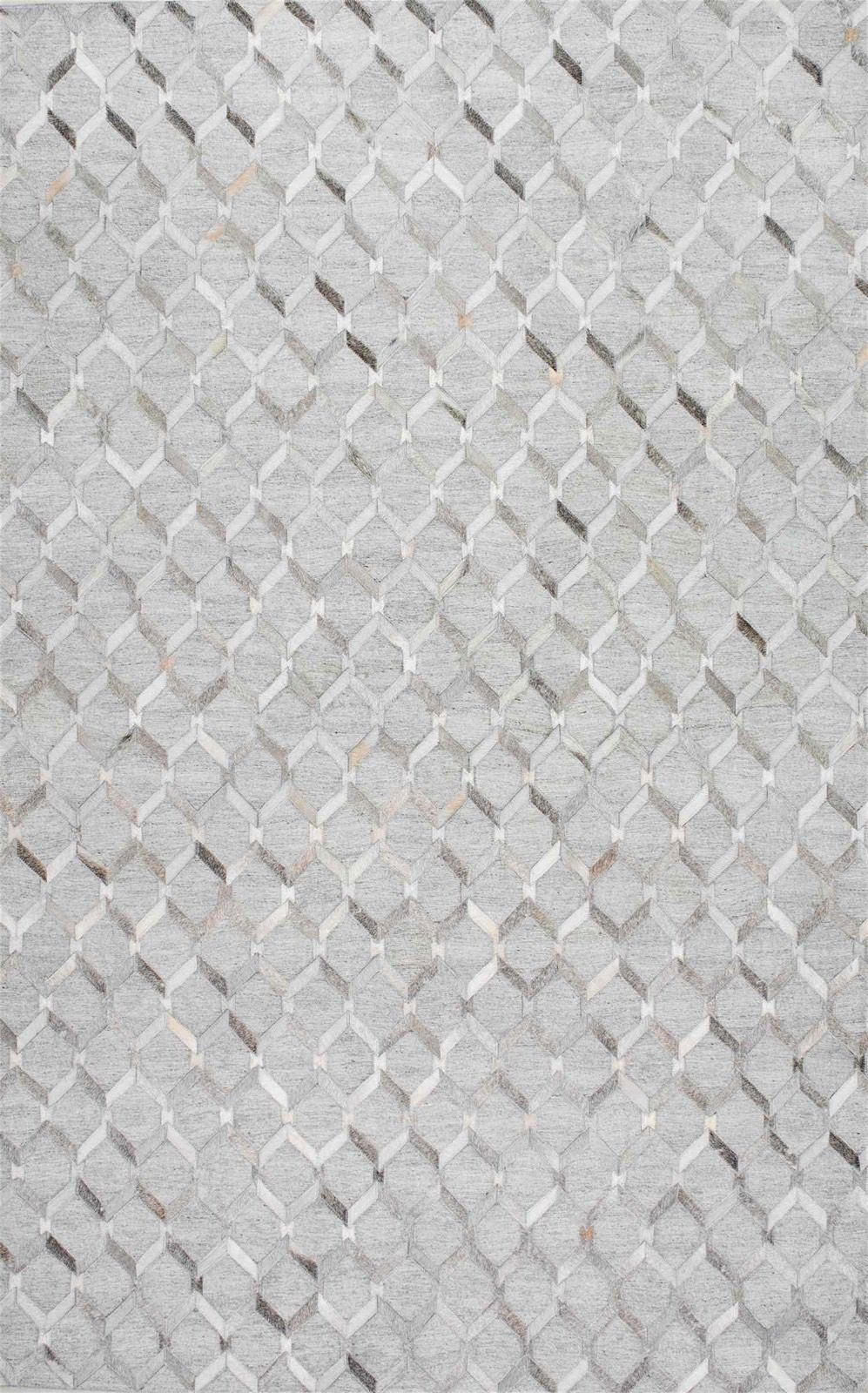 nuloom cowhide grenier animal inspirations area rug collection
