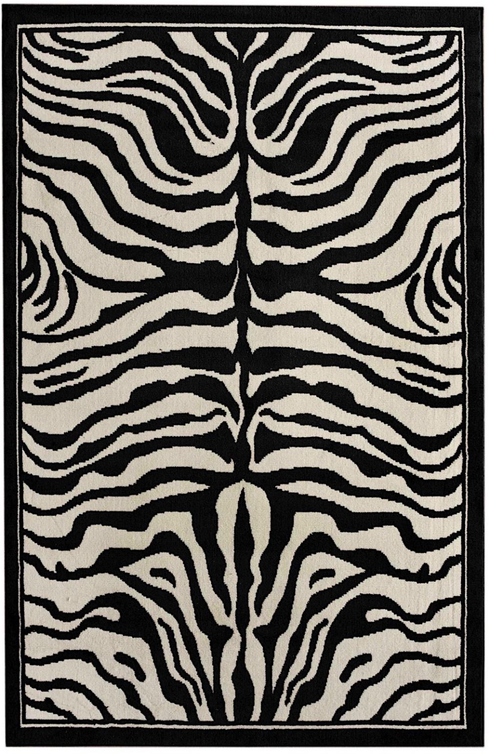 nuloom contemporary zebra print animal inspirations area rug collection