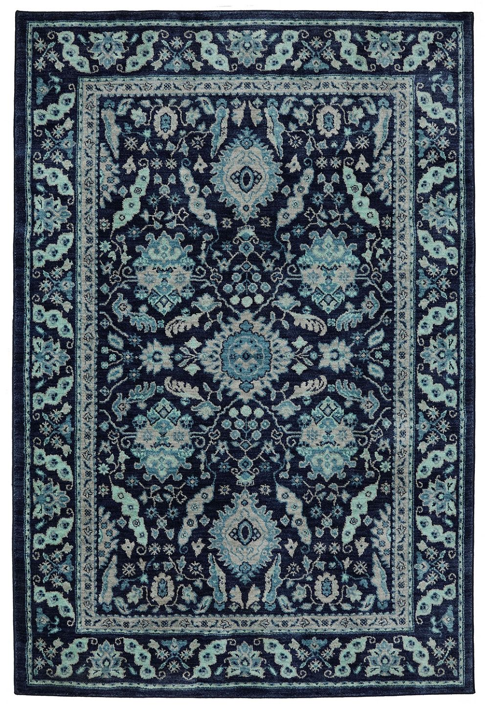 karastan pacifica traditional area rug collection
