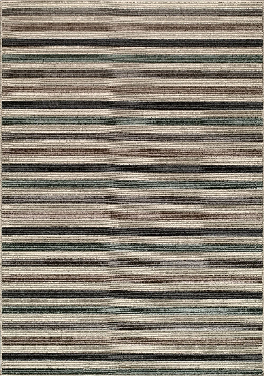 momeni baja solid/striped area rug collection