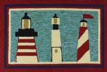 Homefires Contemporary Lighthouse Brigade Area Rug Collection