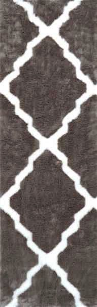 nuloom beatrice faux sheepskin transitional area rug collection