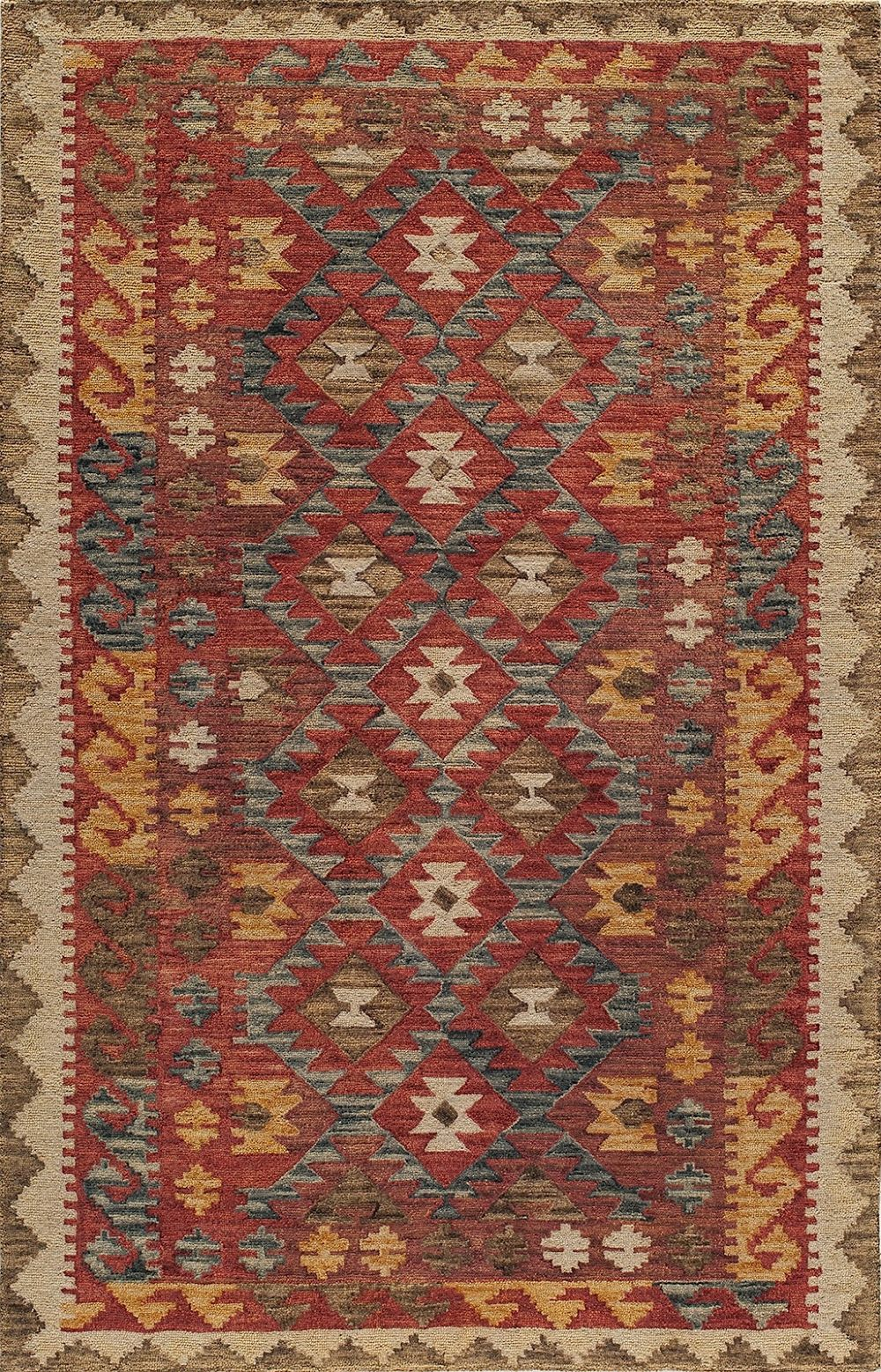 momeni tangier southwestern/lodge area rug collection