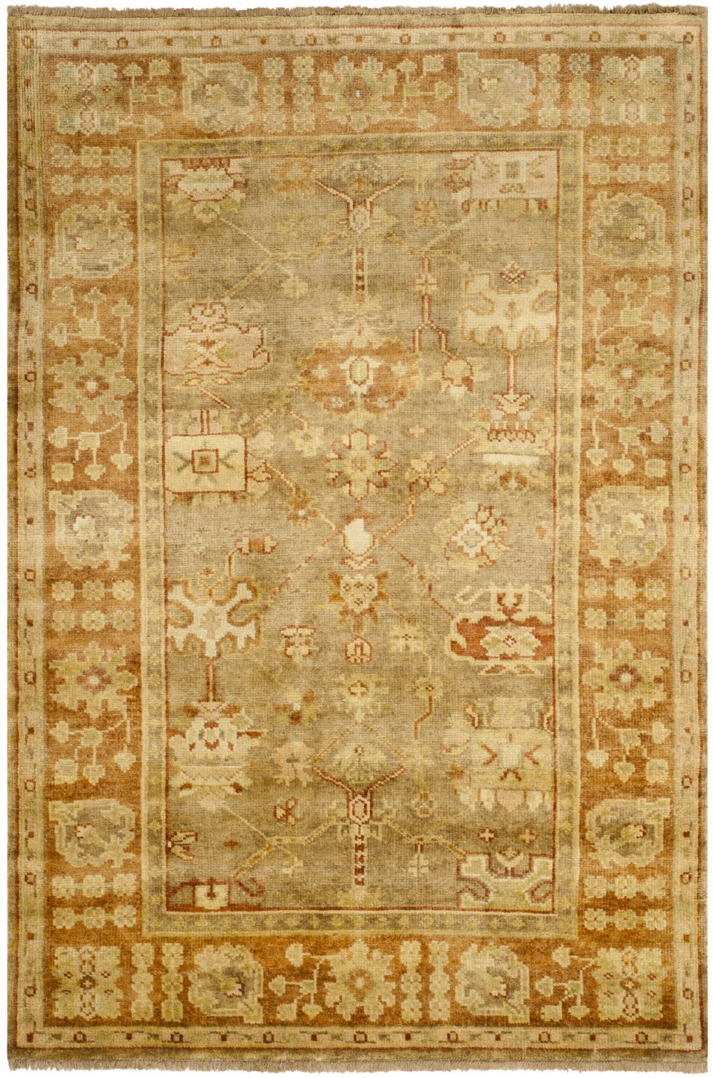 Safavieh Oushak Traditional Area Rug Collection Rugpal
