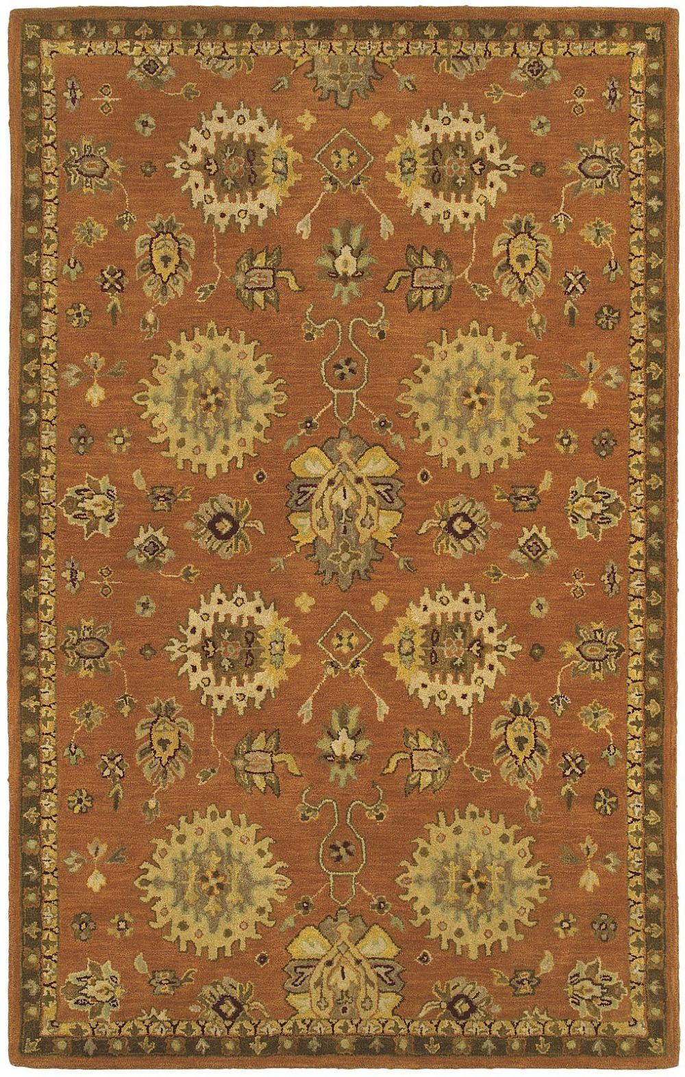 shaw casablanca traditional area rug collection