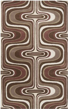 RugPal Contemporary Mid Century Area Rug Collection
