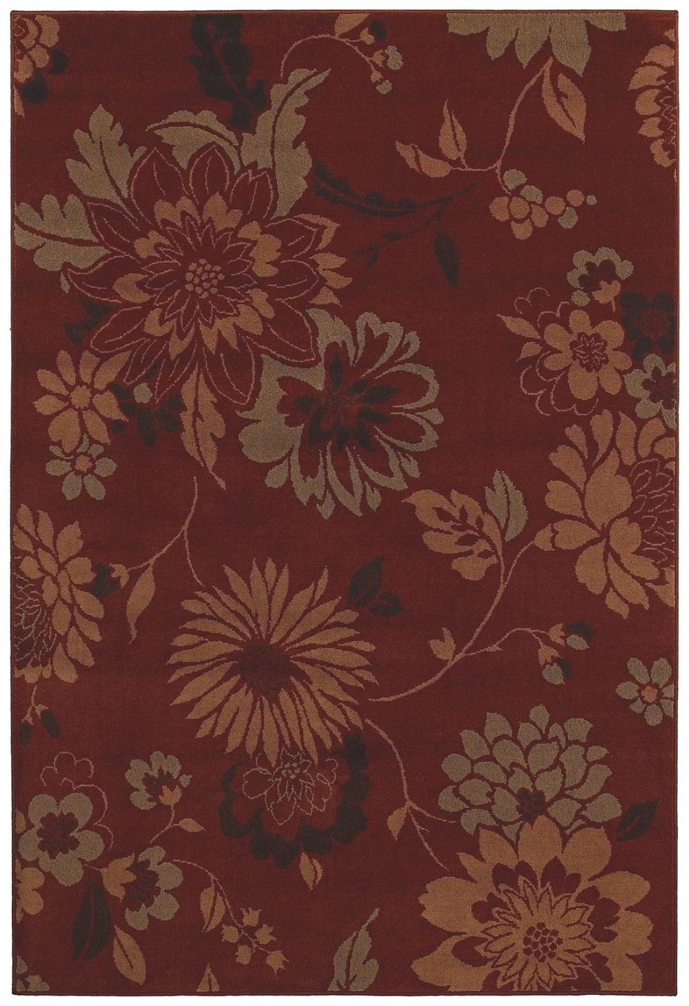 shaw concepts country & floral area rug collection