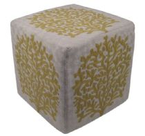 Momeni Contemporary Chainstitch pouf/ottoman Collection