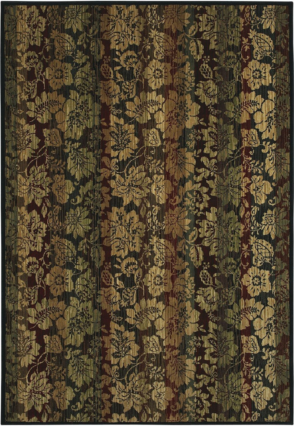 shaw inspired design country & floral area rug collection