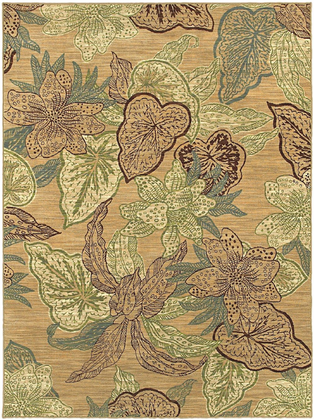shaw mirabella country & floral area rug collection