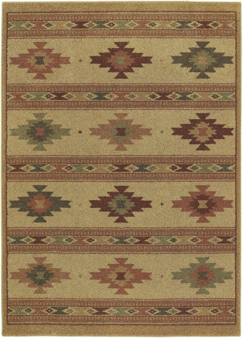 shaw origins southwestern/lodge area rug collection