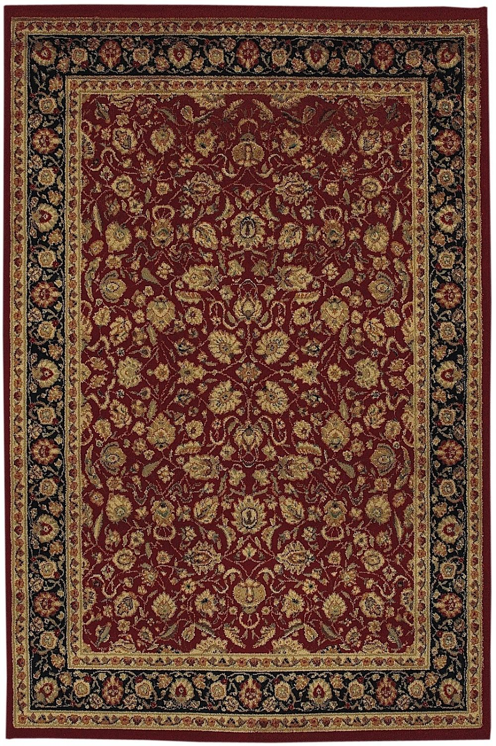 shaw accents traditional area rug collection