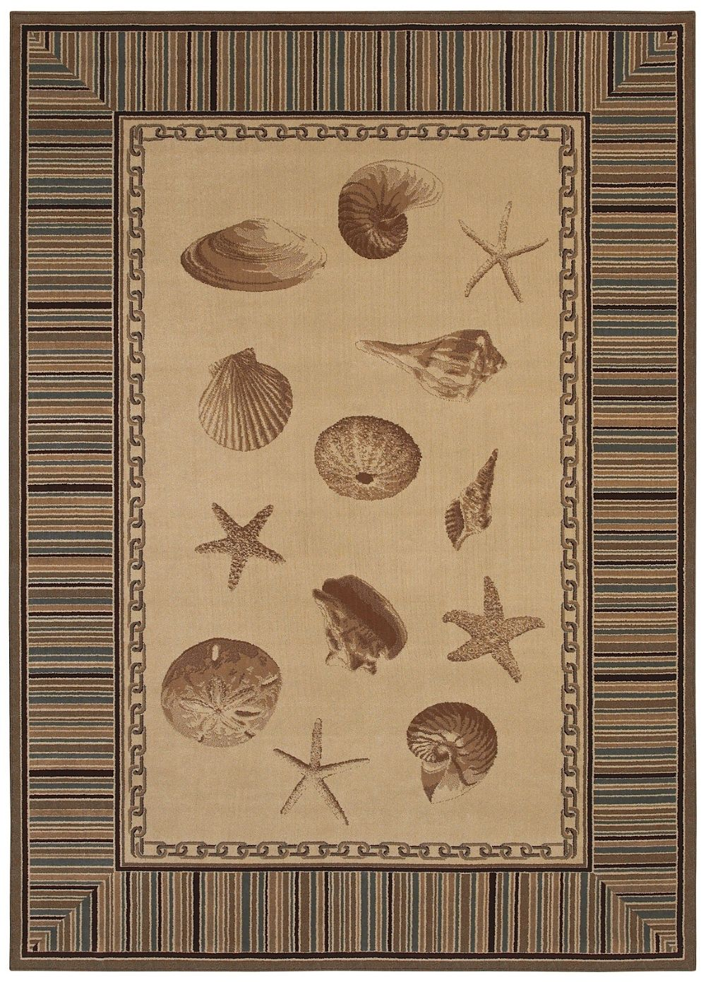 shaw beachside contemporary area rug collection
