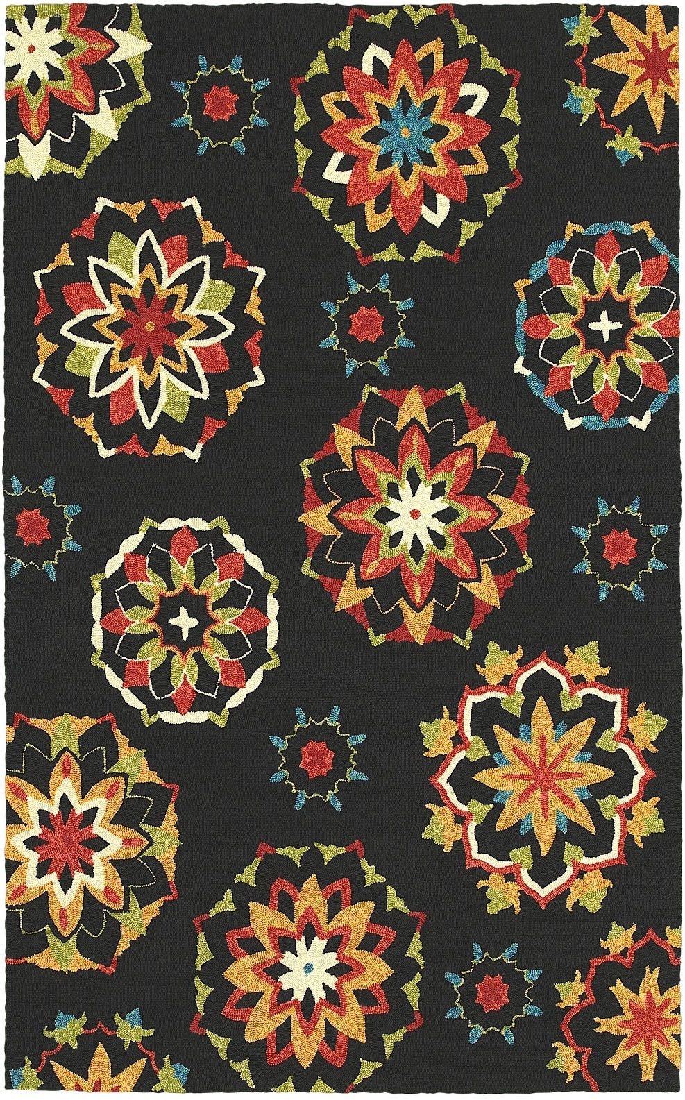shaw garden craft indoor/outdoor area rug collection