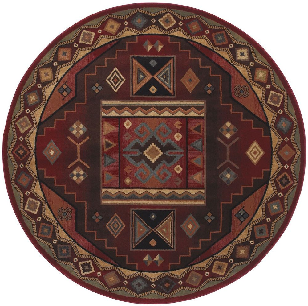 shaw inspired design southwestern/lodge area rug collection