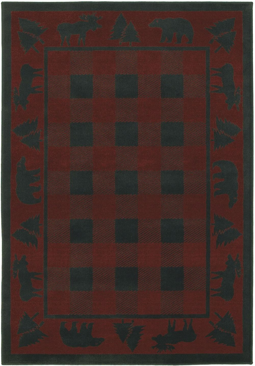 shaw timber creek by phillip crowe southwestern/lodge area rug collection