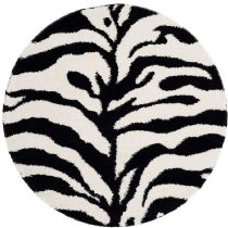 Safavieh Shag Zebra Shag Area Rug Collection