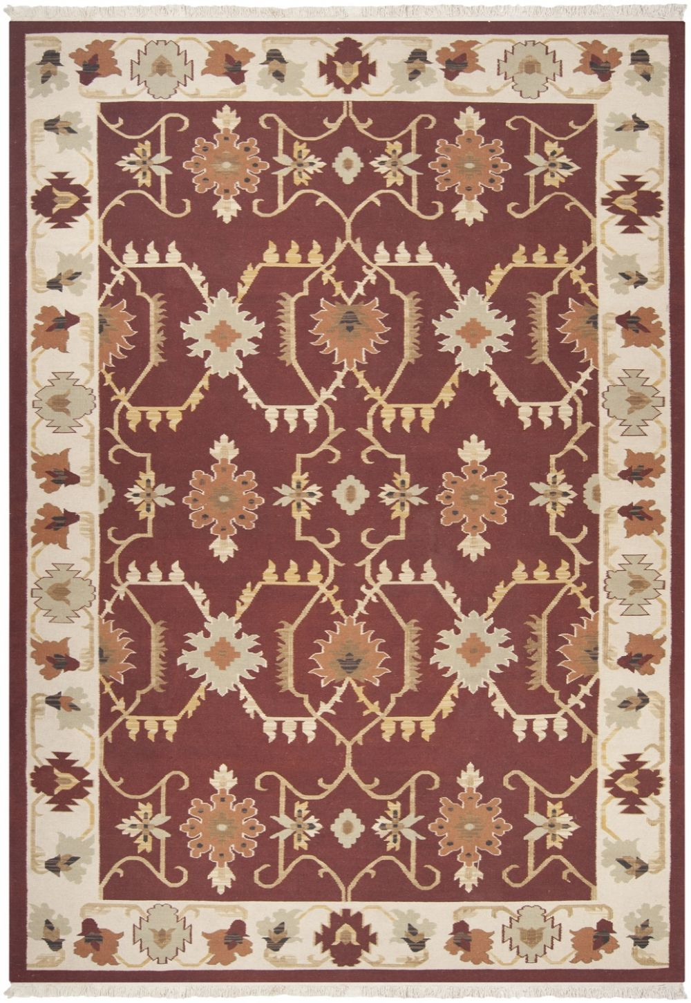 surya nomadic kilim southwestern/lodge area rug collection
