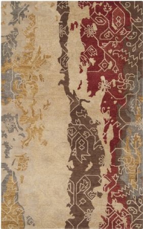 Surya Contemporary Rant Area Rug Collection