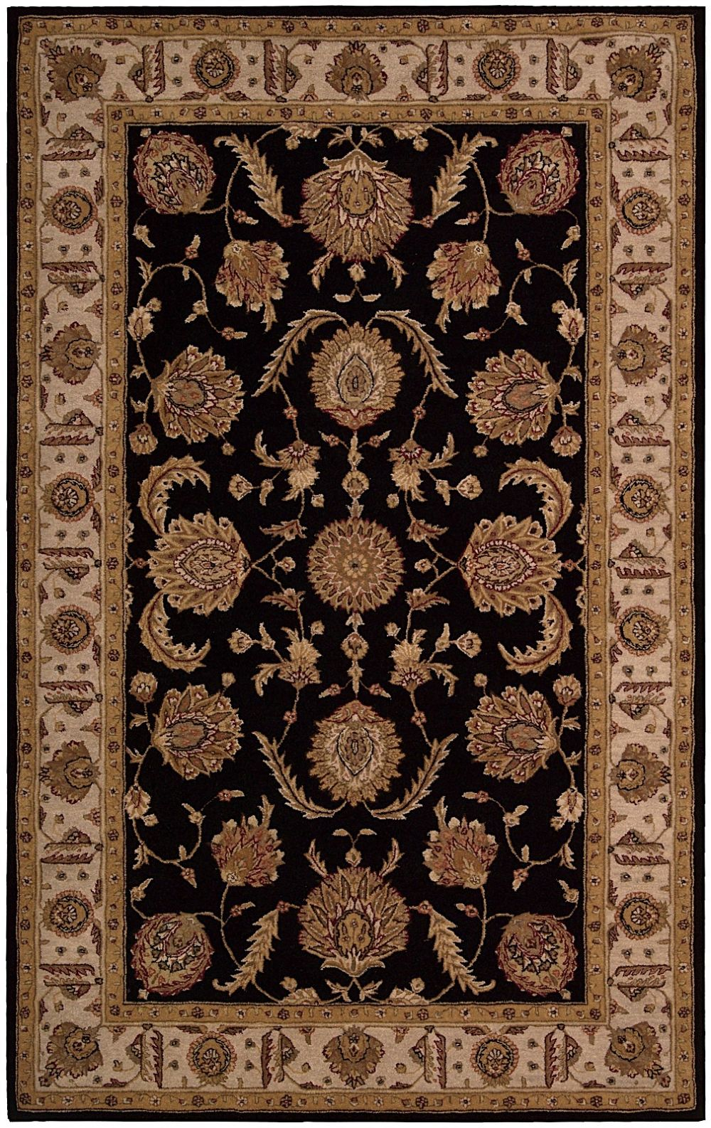 nourison heritage hall traditional area rug collection