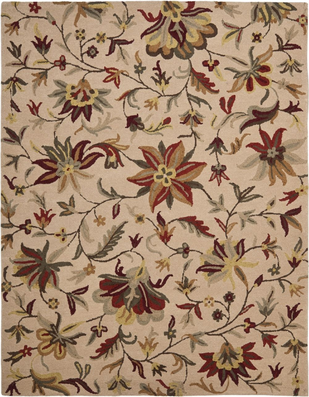 Safavieh jardin country floral area rug collection for Jardin floral
