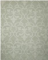 Nourison Solid/Striped Barcelona Area Rug Collection