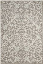 Nourison Contemporary Damask Area Rug Collection