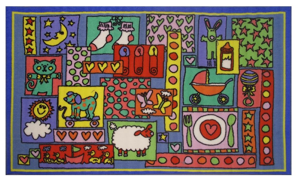 fun rugs fun time kids area rug collection