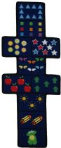 Fun Rugs Kids Fun Time Shape Area Rug Collection