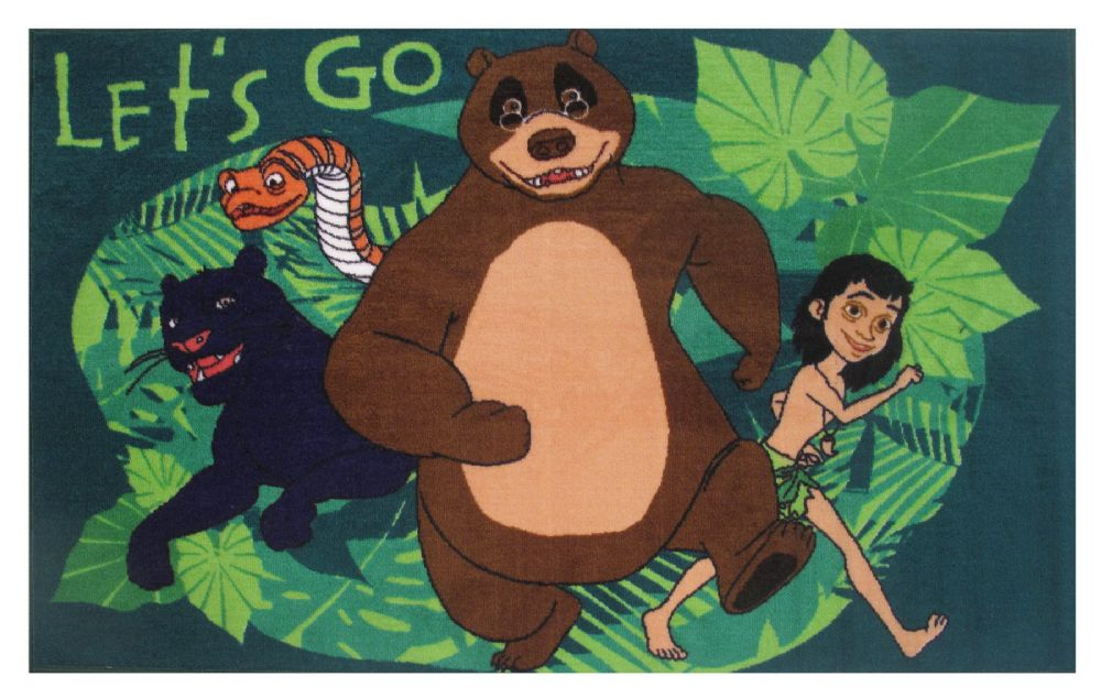 fun rugs jungle book kids area rug collection