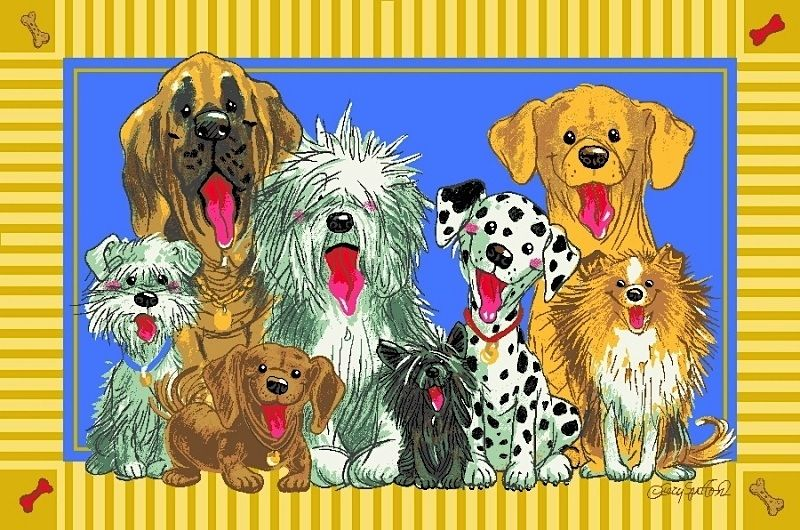 fun rugs wags & whiskers kids area rug collection