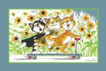 Fun Rugs Kids Wags & Whiskers Area Rug Collection