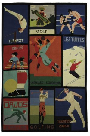 Safavieh Novelty Vintage Posters Area Rug Collection