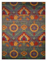 LA Rugs Country & Floral Botticelli Area Rug Collection