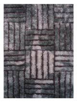 LA Rugs Shag Contempo Shaggy Area Rug Collection