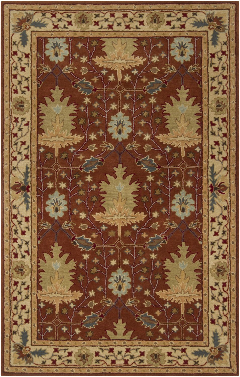 surya aurora traditional area rug collection