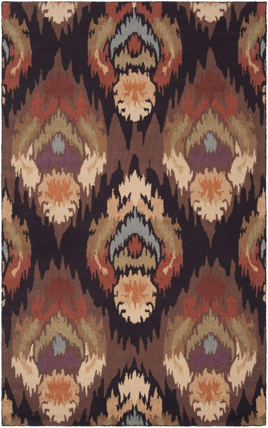 surya brentwood contemporary area rug collection