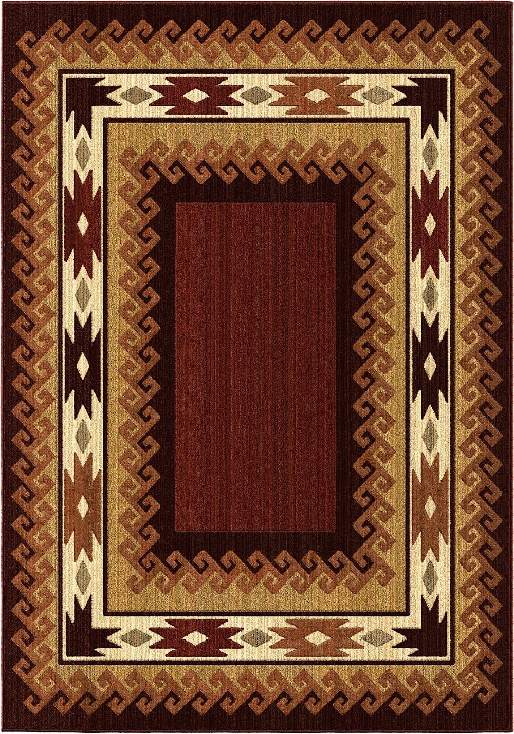 orian anthology southwestern/lodge area rug collection