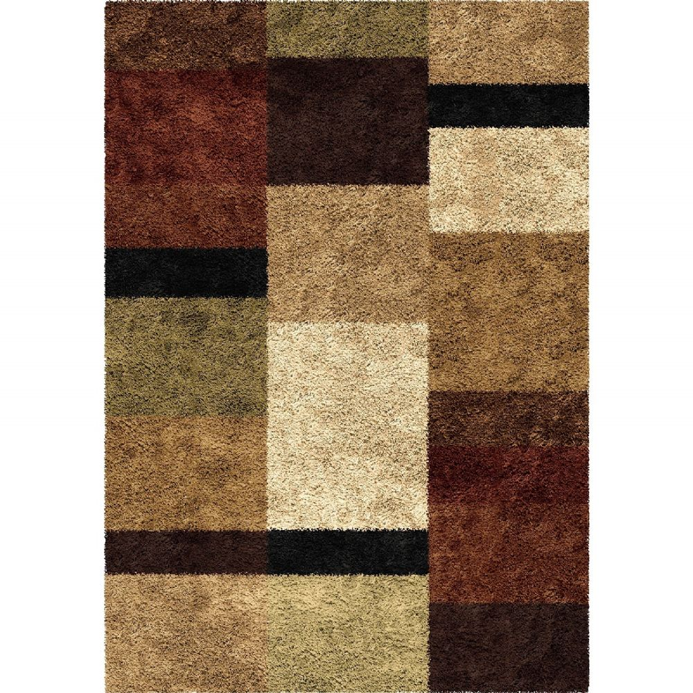 orian impressions shag transitional area rug collection