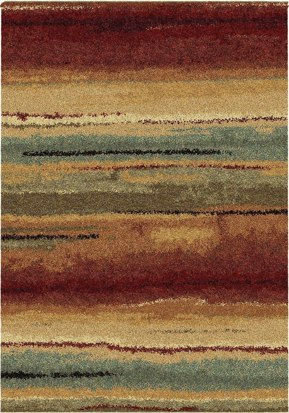 orian wild weave solid/striped area rug collection