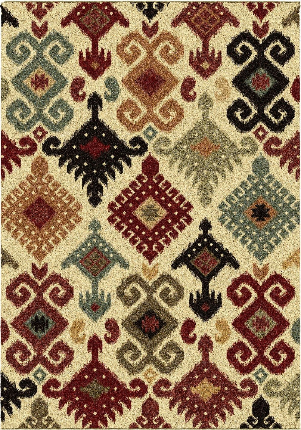 orian wild weave southwestern/lodge area rug collection