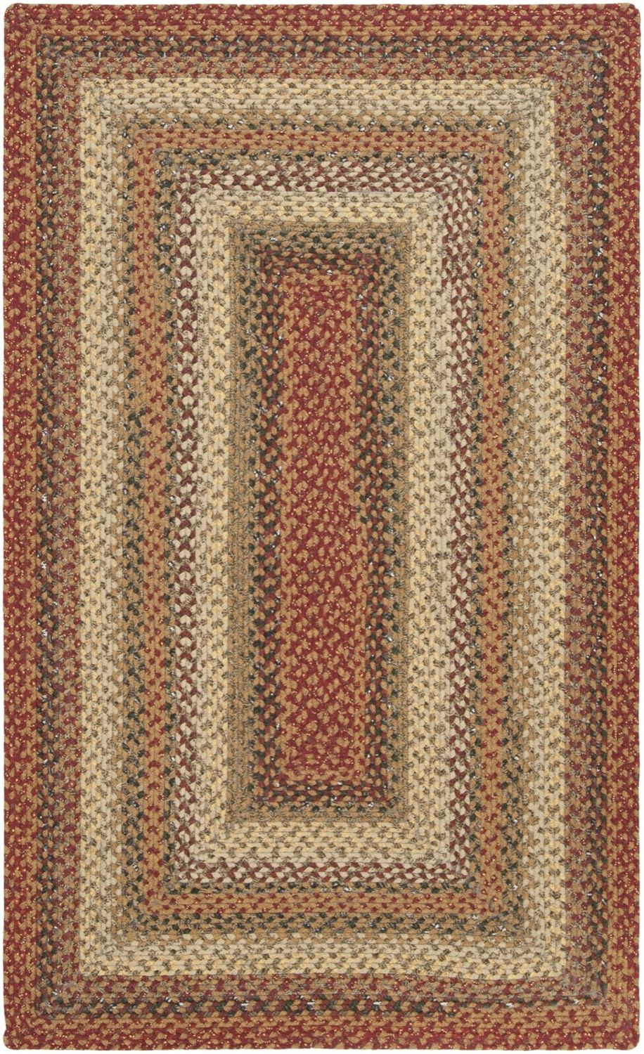 surya cottage braids braided area rug collection