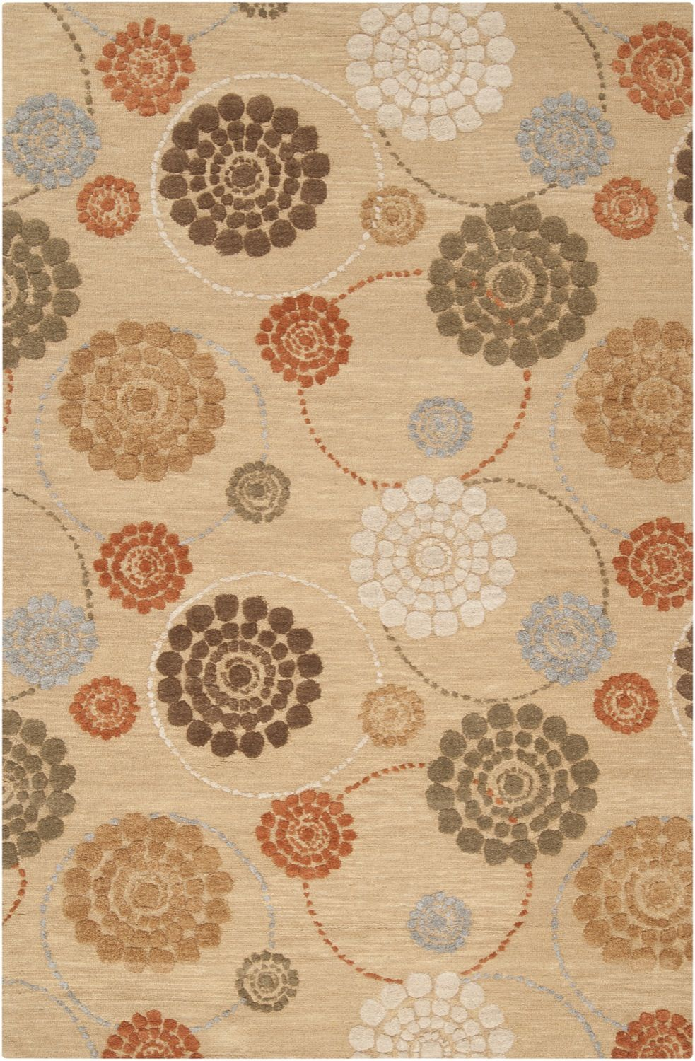 surya dream contemporary area rug collection