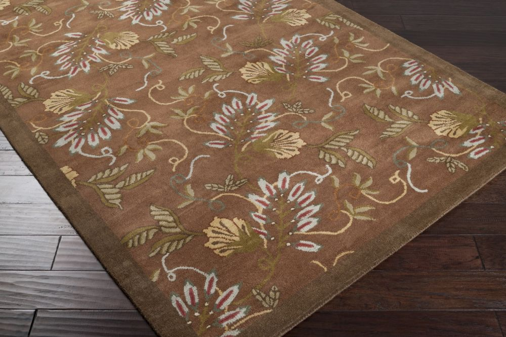 surya goa country & floral area rug collection